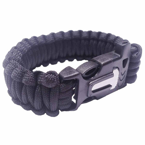 paracord bracelet black buckle