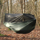 dd superlight frontline hammock outdoors mosquito net closed