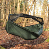 dd superlight frontline hammock outdoors mosquito net open
