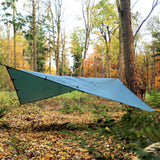 dd tarp 4x4 green diamond shape
