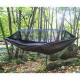 dd travel hammock bivi suspended outdoors