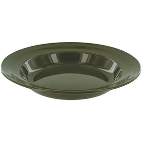 deep plastic camping plate