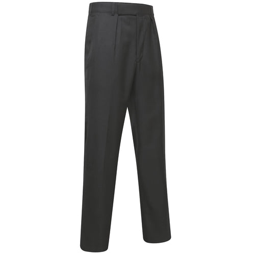 ex-police black lightweight trousers front