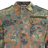 chest of German Army Surplus Flecktarn Field Shirt