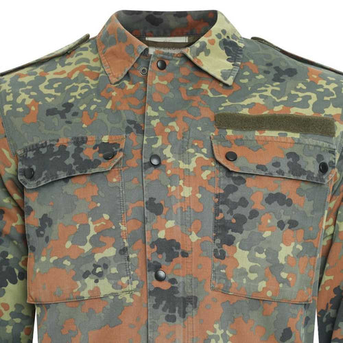 German Army Surplus Flecktarn Camo Field Shirt