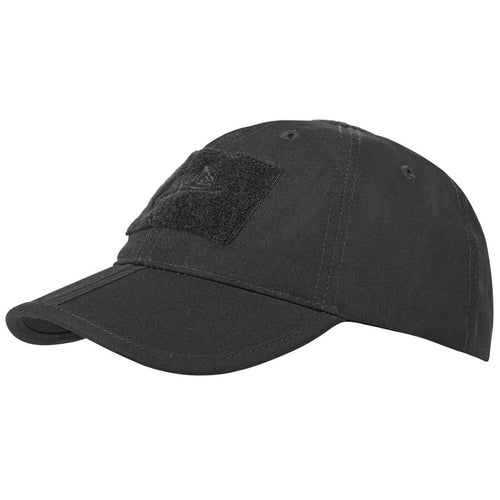 helikon folding baseball cap black