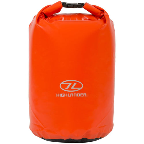 highlander orange waterproof pvc dry bags