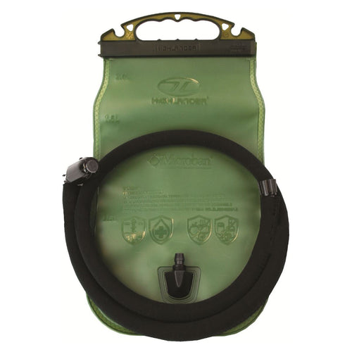 highlander 2 litre sl hydration bladder olive green