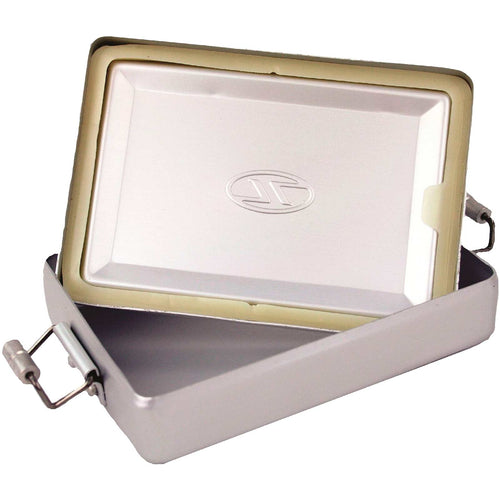 highlander aluminium survival tin open
