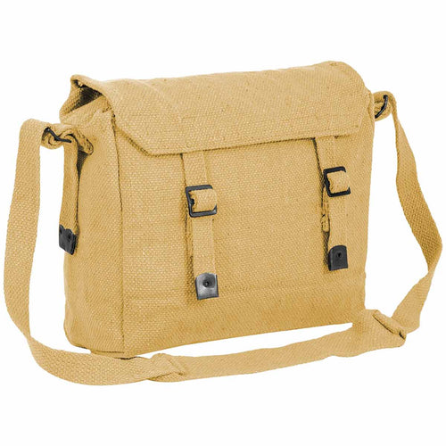 highlander beige canvas webbing shoulder bag