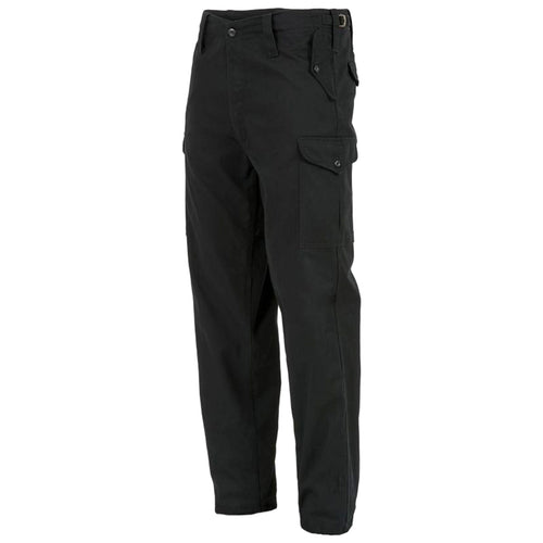 Highlander Heavyweight Combat Trousers Black