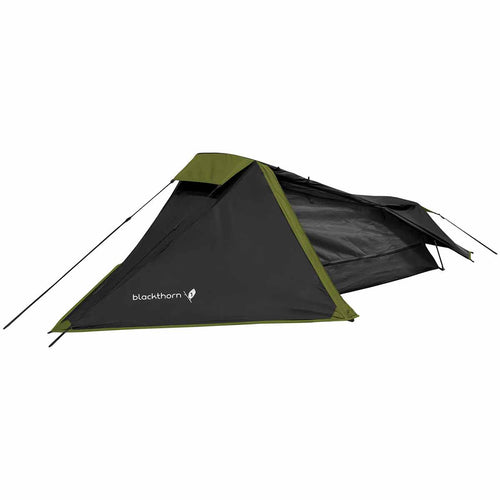 highlander blackthorn 1 man tent black