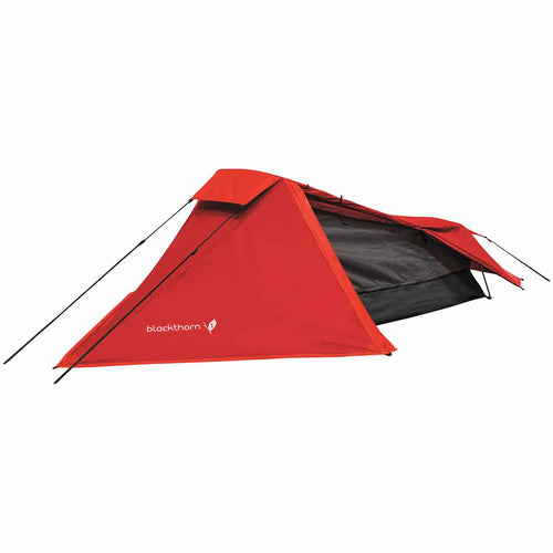 highlander blackthorn 1 man tent red