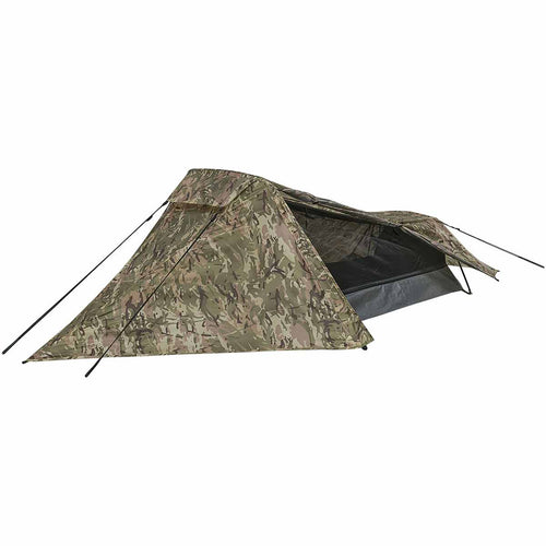 highlander blackthorn 1 person tent hmtc camo open