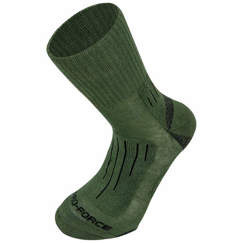 Highlander Crusader Socks Olive Green