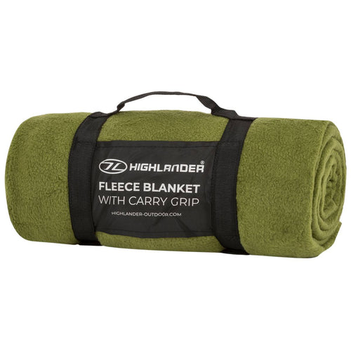 Highlander Fleece Blanket Olive Green