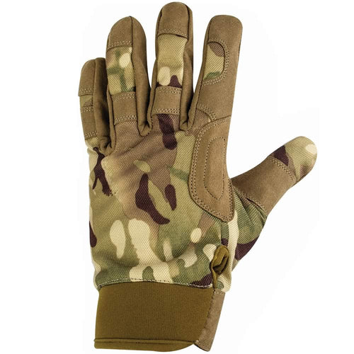 highlander covert camouflage tactical gloves