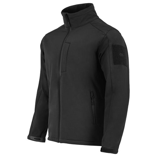 highlander black waterproof softshell jacket