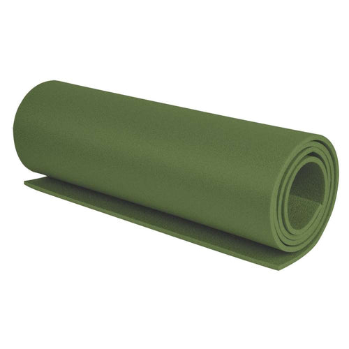 highlander olive green sleeping roll mat