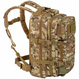 left side of highlander recon 28l pack hmtc camo