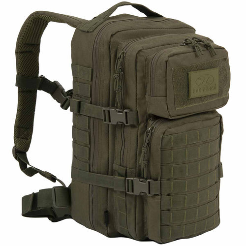 highlander recon 28l pack olive green