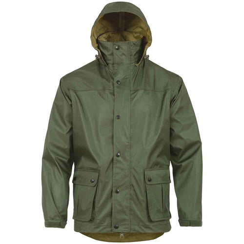 highlander tempest waterproof jacket olive hood