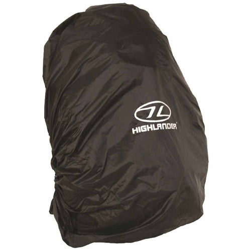highlander waterproof rucksack cover 20-35l black