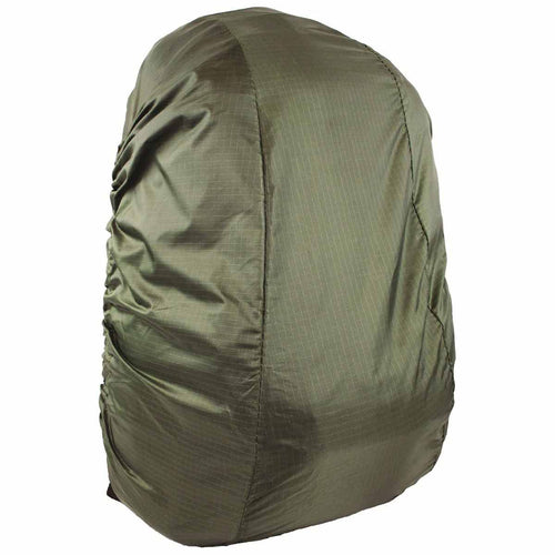 highlander waterproof rucksack cover 20-35l olive green