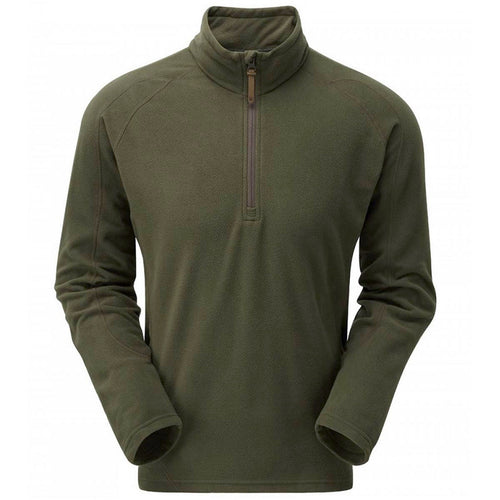 Keela Mens Olive Green Micro Pulse Fleece