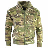kids army camouflage hoodie