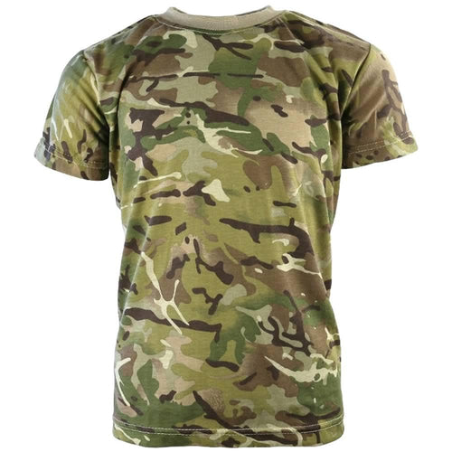 kids multicam army tshirt