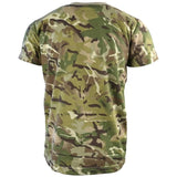 rear view kids army camo tshirt