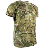 childrens camouflage army tshirt
