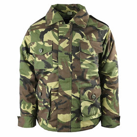 kids dpm camo army combat jacket
