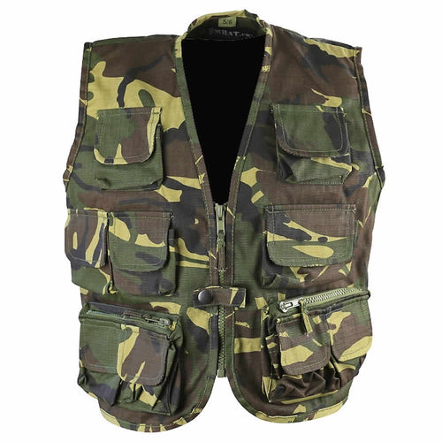 kids army tactical vest british dpm camouflage