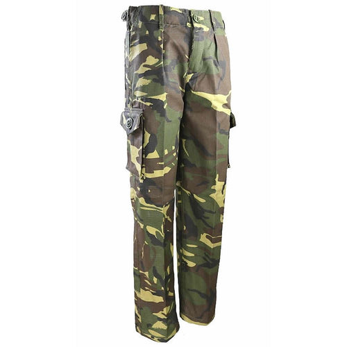 kids dpm camo army combat trousers