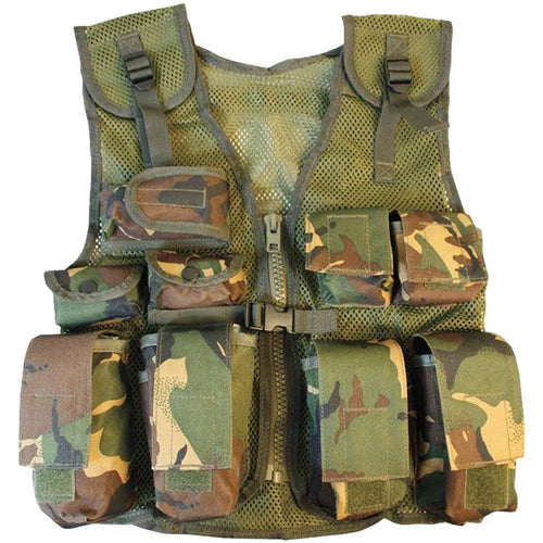 kids dpm camo assault vest
