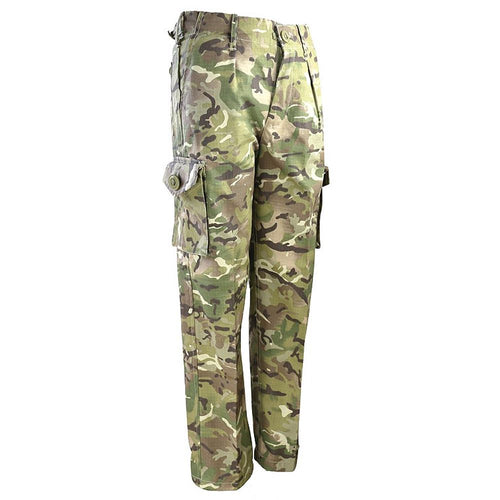 kids multicam camouflage combat trousers
