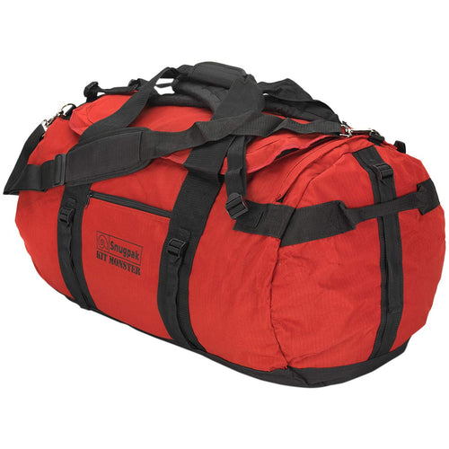 snugpak kit monster 65 litre holdall red