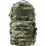 front view of kombat 40L raptorkam jungle molle assault pack