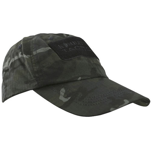 tactical operators cap black camo