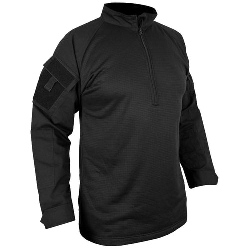 kombat ubacs tactical fleece shirt black