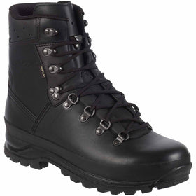 lowa mountain gtx black boots