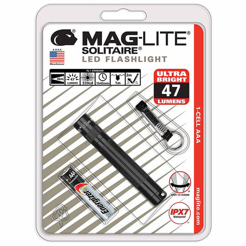 Maglite Solitaire LED Torch Packaged