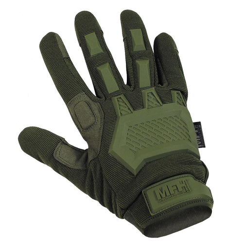 MFH Action Tactical Gloves Olive Green