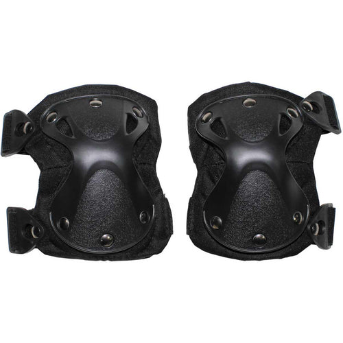 mfh defence black knee pads