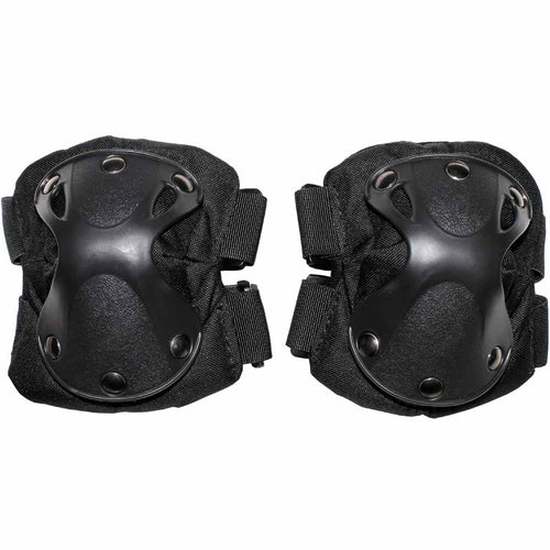 mfh defence elbow pads black