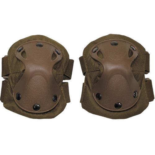 mfh defence elbow pads coyote