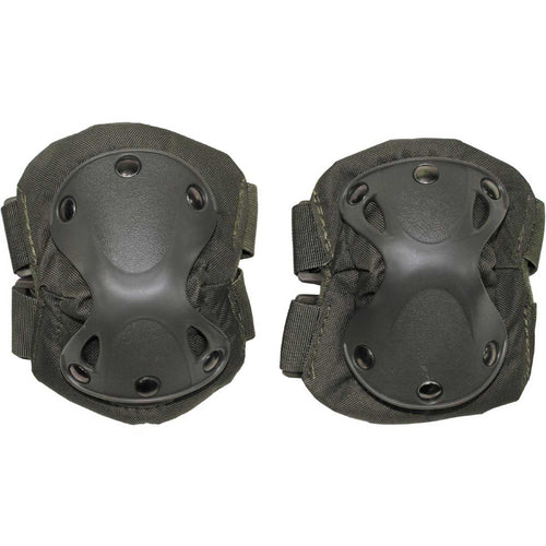 mfh defence elbow pads olive green