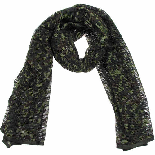MFH Cotton Scrim Net Scarf Flecktarn